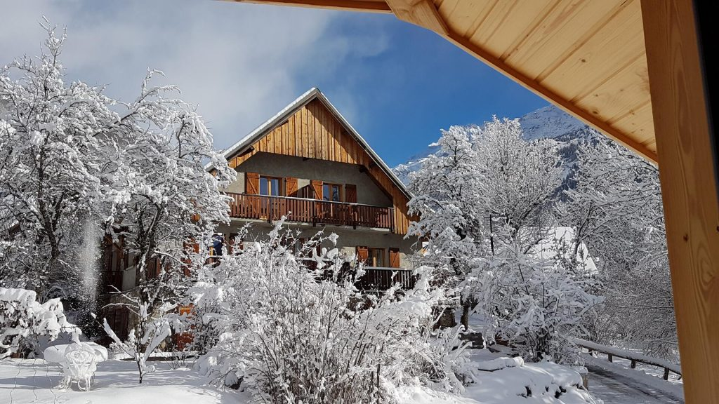 Chalet Solneige winter