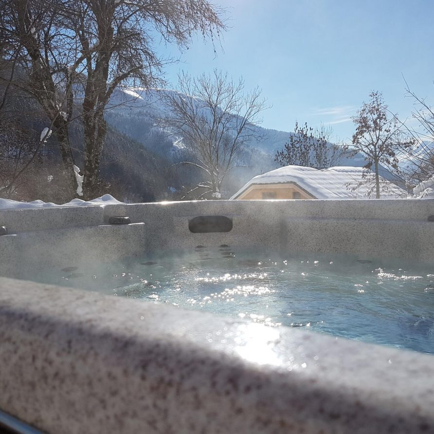 Jacuzzi winter