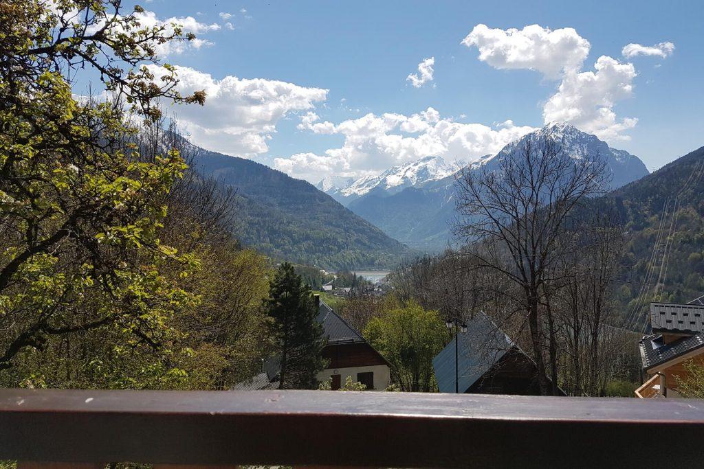 Appartement vue du balcon