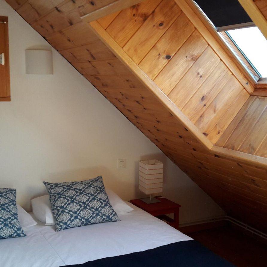 Chalet-Solneige slaapkamer Appartement